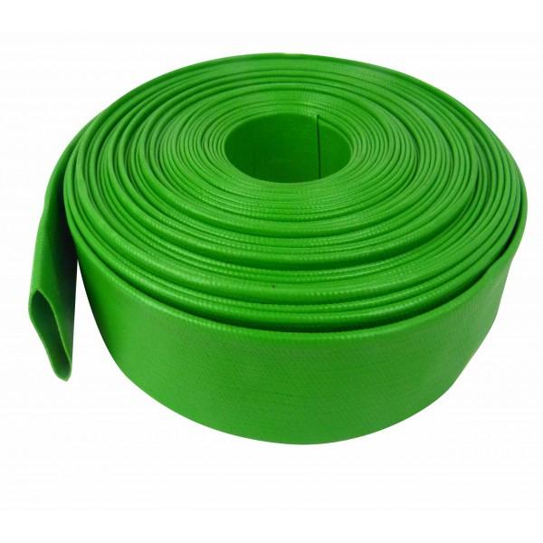 green lay flat hose
